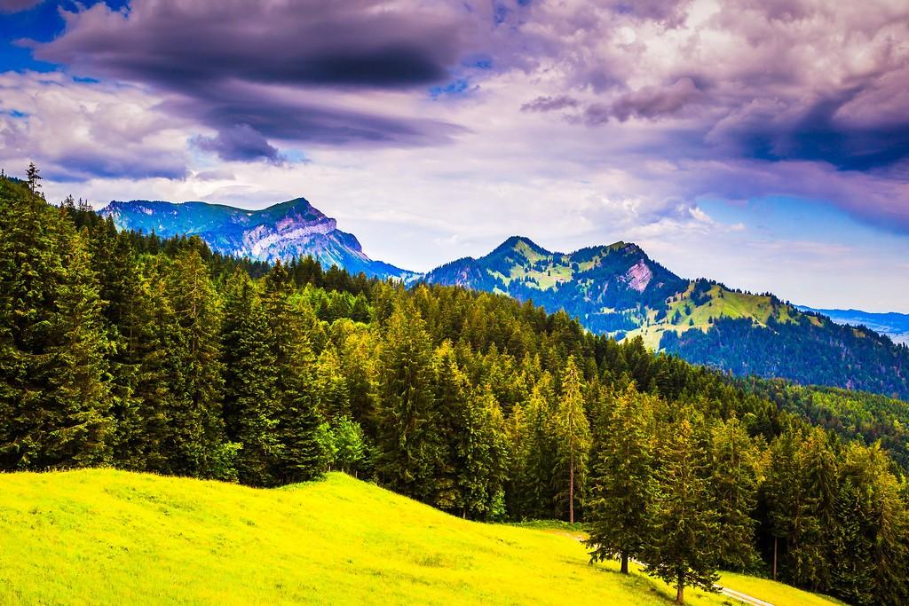 瑞士卢塞恩(Lucerne),山的这一边_图1-30