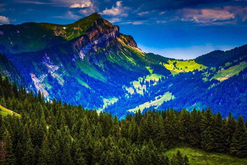 瑞士卢塞恩(Lucerne),山的这一边_图1-33