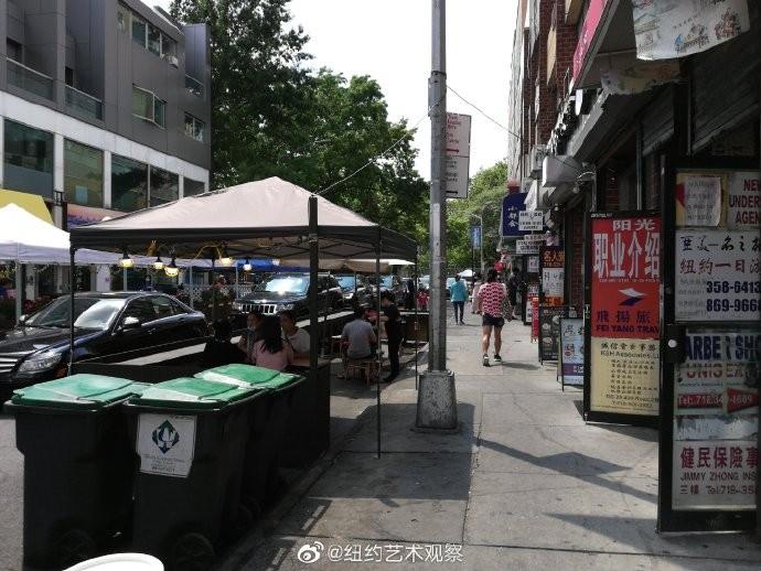 纽约法拉盛美食天堂在艰难中一点一点恢复_图1-5