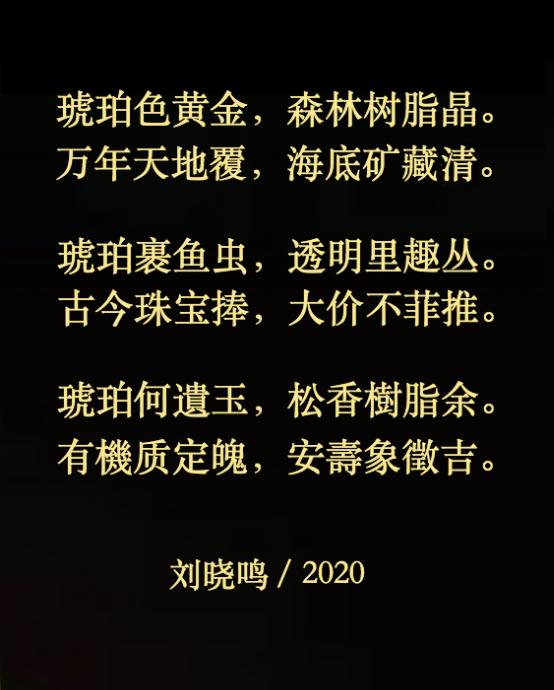 【拼图配诗】五绝.琥珀虎(三首)_图1-2