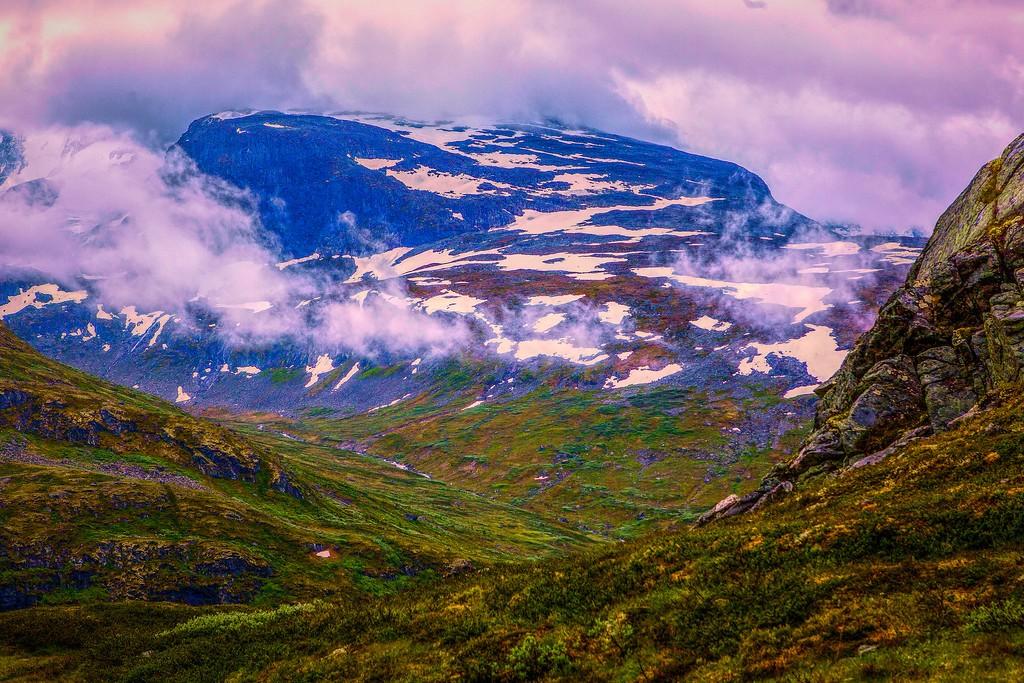 北欧风光,眺望雪山_图1-31