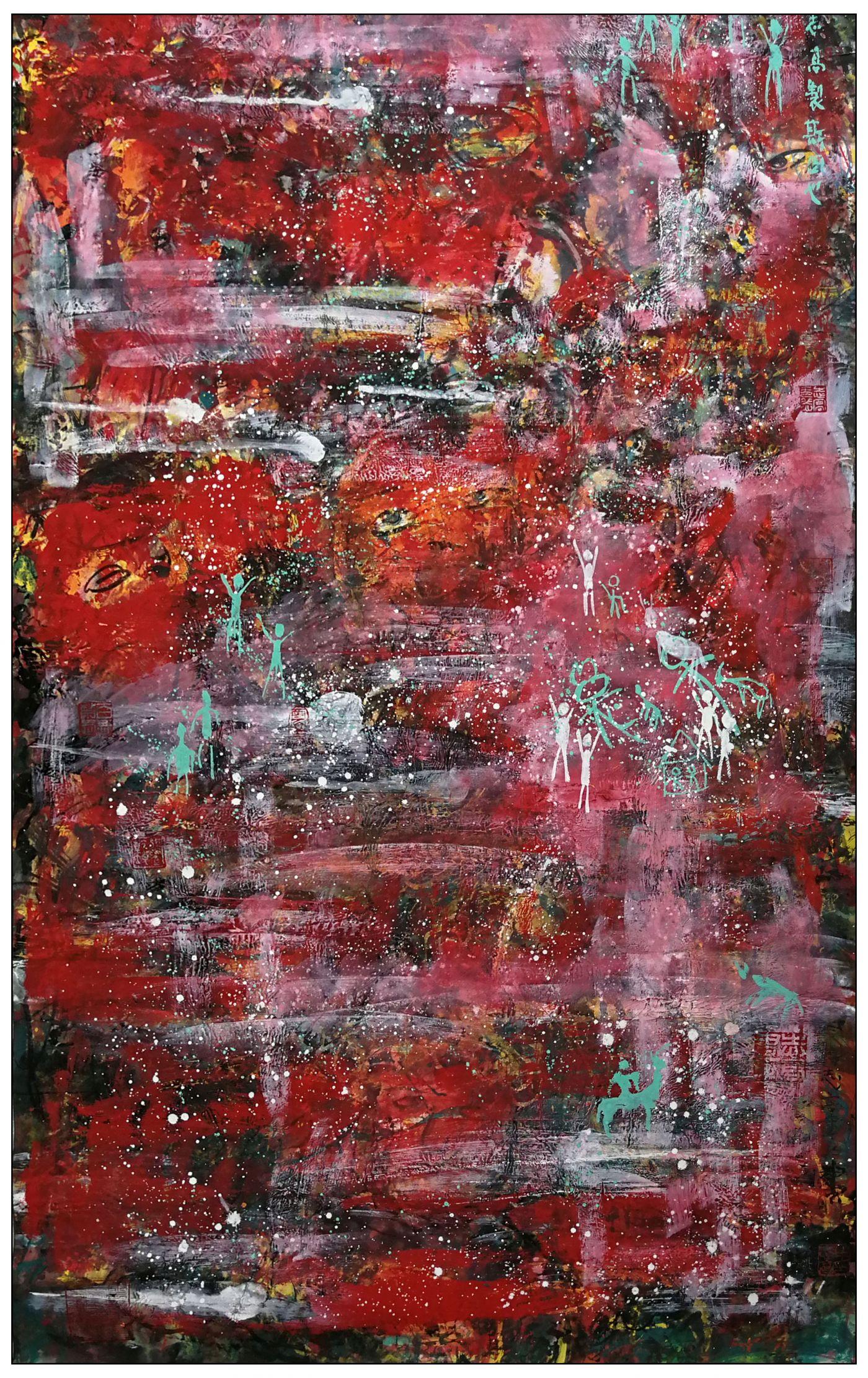 牛志高现代抽象画------2020.09.03_图1-2