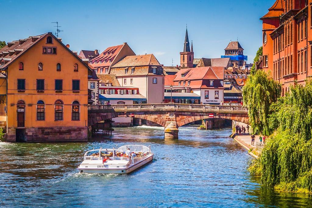 法国斯特拉斯堡(Strasbourg),老城老建筑_图1-31