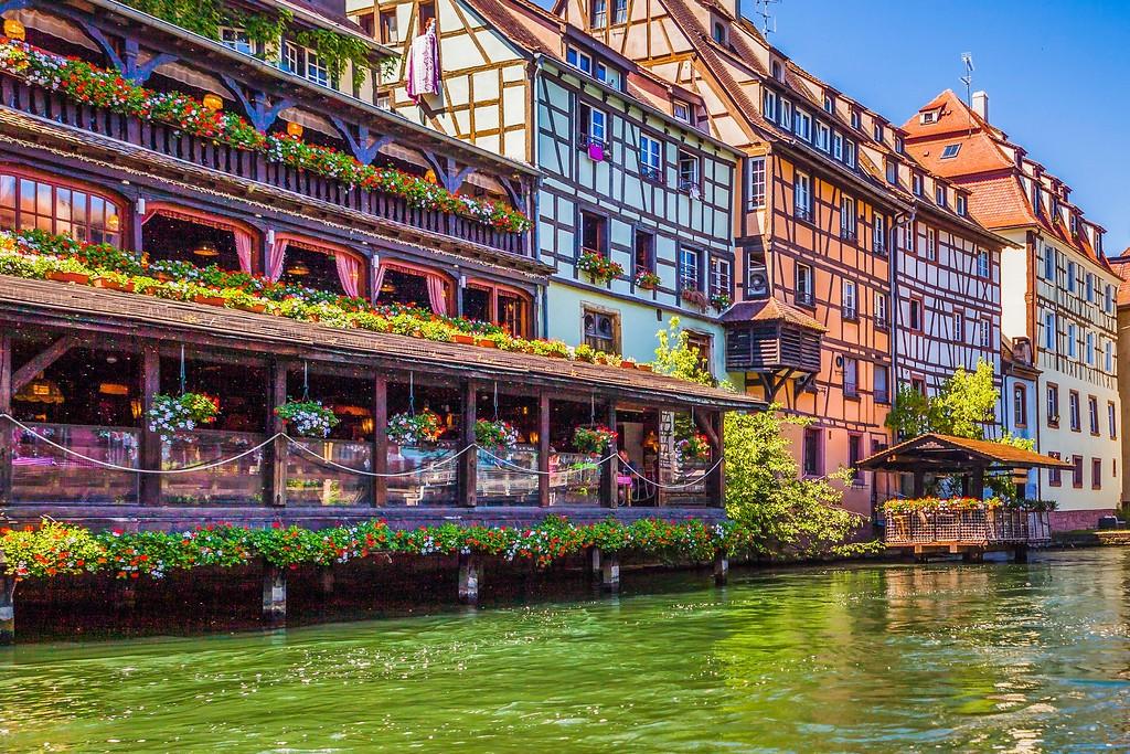 法国斯特拉斯堡(Strasbourg),老城老建筑_图1-32
