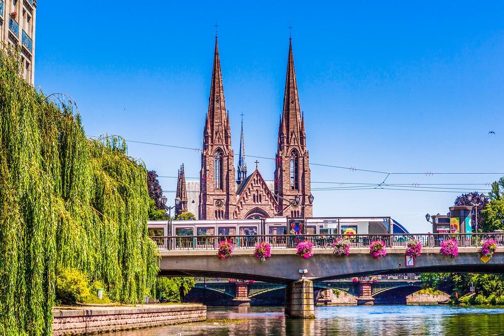 法国斯特拉斯堡(Strasbourg),老城老建筑_图1-30