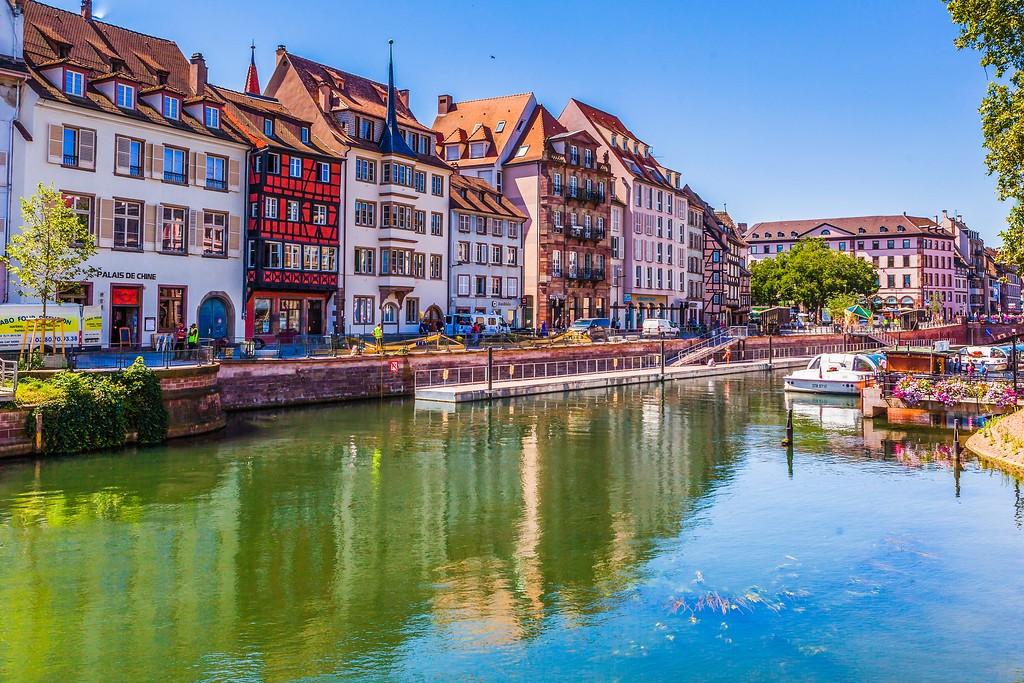 法国斯特拉斯堡(Strasbourg),老城老建筑_图1-25