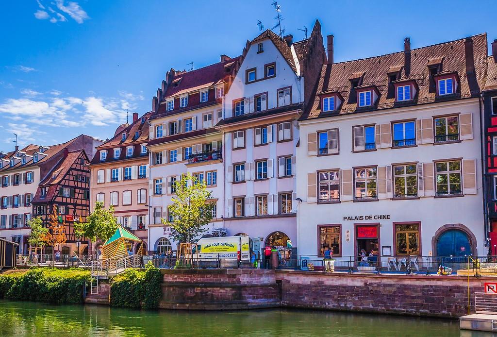 法国斯特拉斯堡(Strasbourg),老城老建筑_图1-23