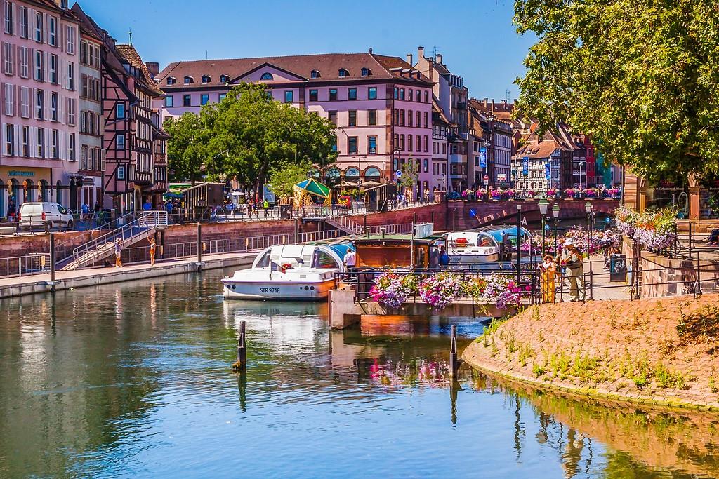法国斯特拉斯堡(Strasbourg),老城老建筑_图1-19