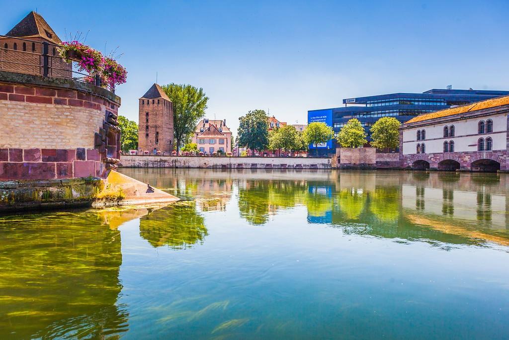 法国斯特拉斯堡(Strasbourg),老城老建筑_图1-18
