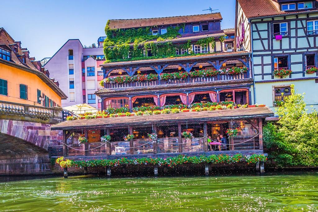 法国斯特拉斯堡(Strasbourg),老城老建筑_图1-17