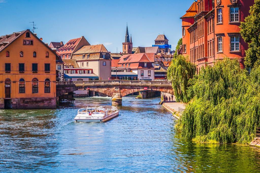 法国斯特拉斯堡(Strasbourg),老城老建筑_图1-20