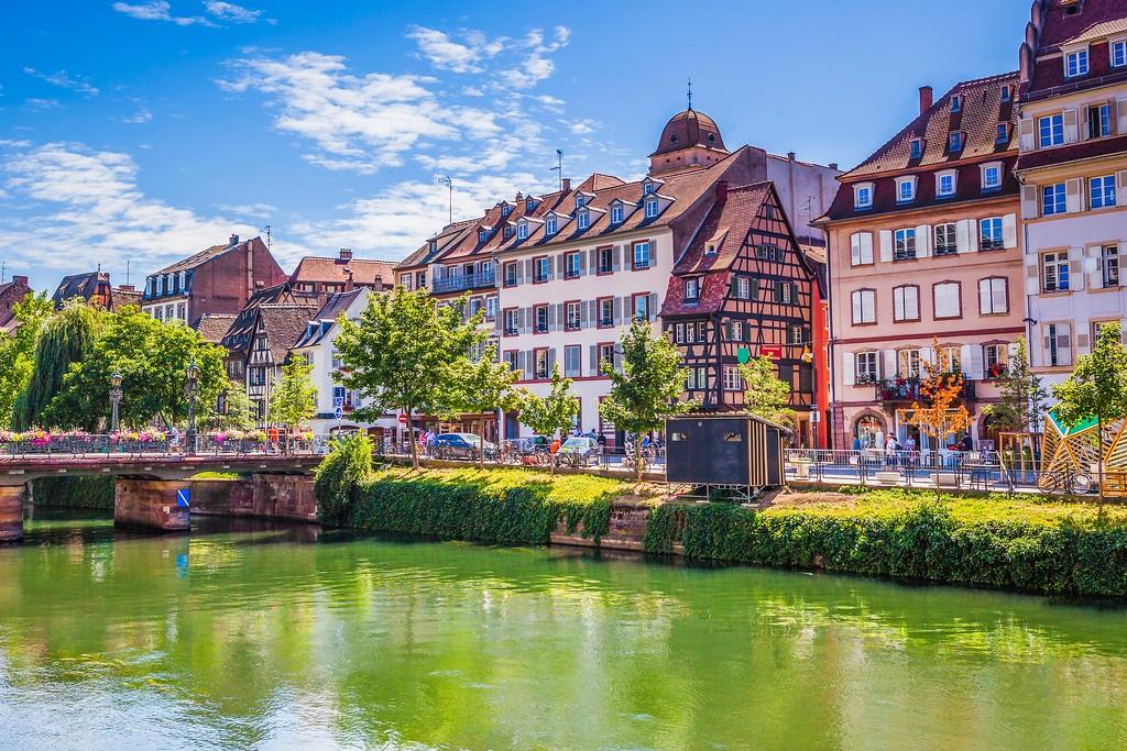 法国斯特拉斯堡(Strasbourg),老城老建筑_图1-13