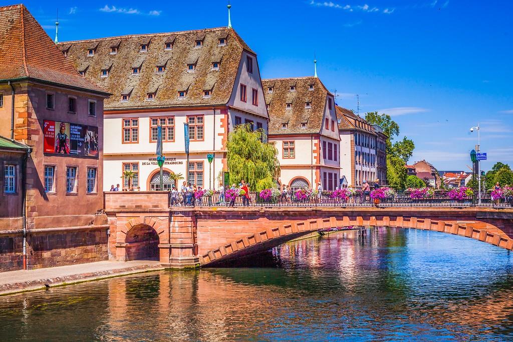 法国斯特拉斯堡(Strasbourg),老城老建筑_图1-14