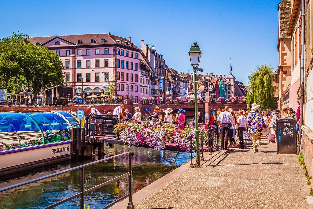 法国斯特拉斯堡(Strasbourg),老城老建筑_图1-16