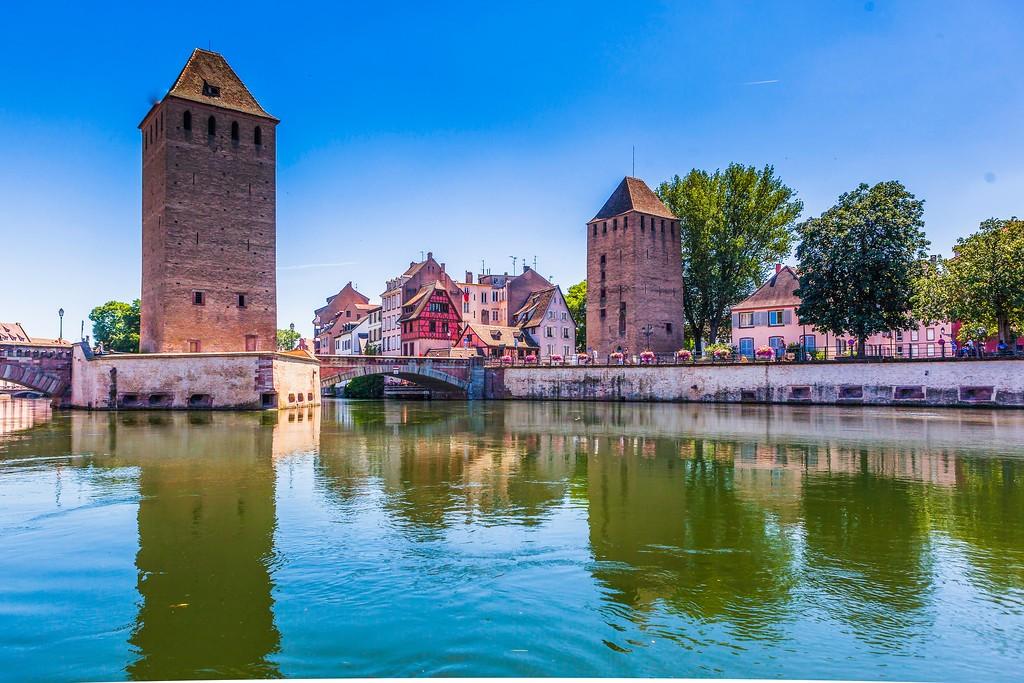 法国斯特拉斯堡(Strasbourg),老城老建筑_图1-12
