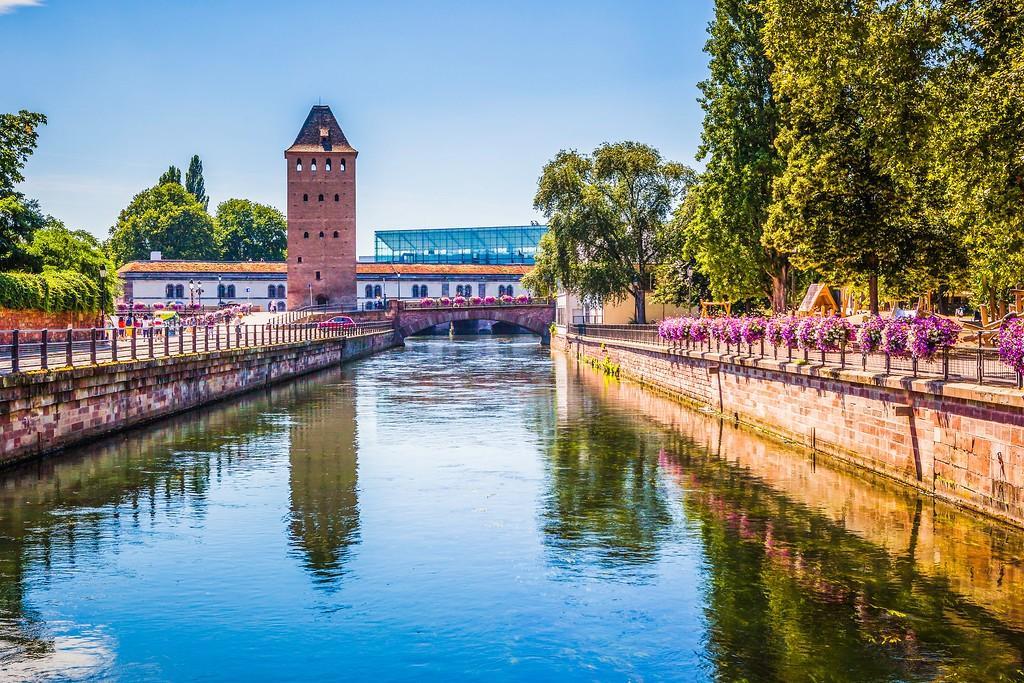 法国斯特拉斯堡(Strasbourg),老城老建筑_图1-11