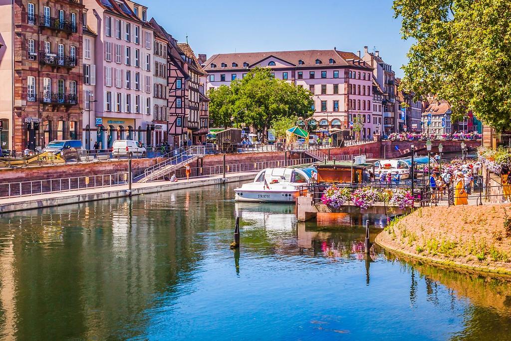 法国斯特拉斯堡(Strasbourg),老城老建筑_图1-7