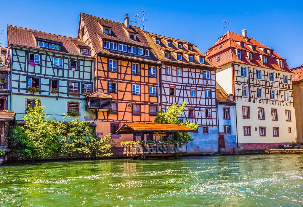 法国斯特拉斯堡(Strasbourg),老城老建筑_图1-6