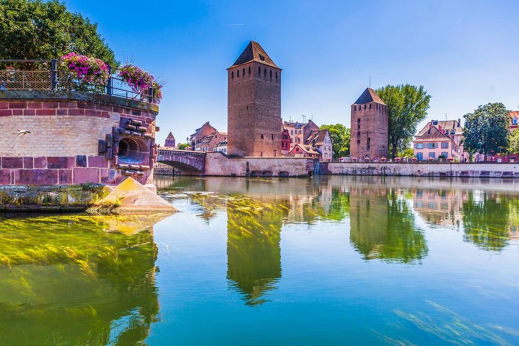 法国斯特拉斯堡(Strasbourg),老城老建筑_图1-1
