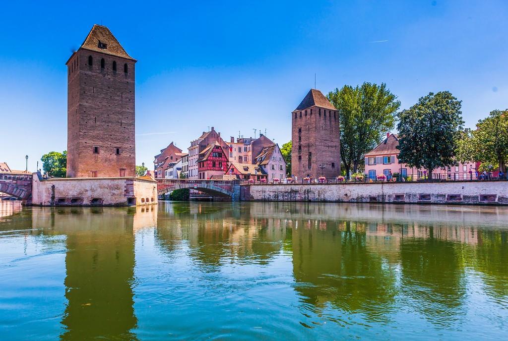 法国斯特拉斯堡(Strasbourg),老城老建筑_图1-5