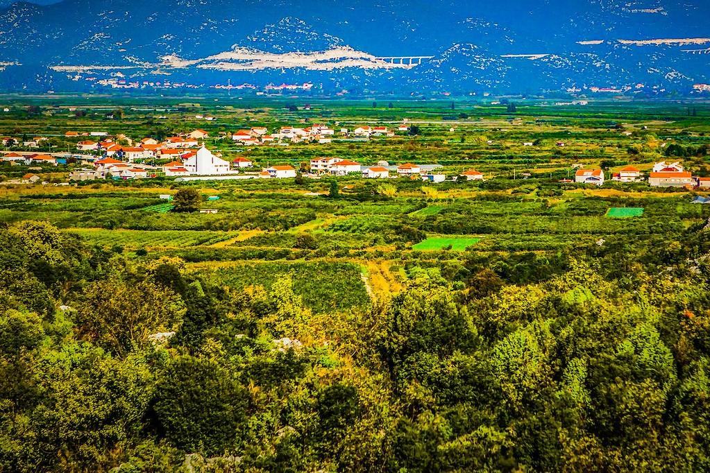 克罗地亚旅途,红瓦绿树_图1-37