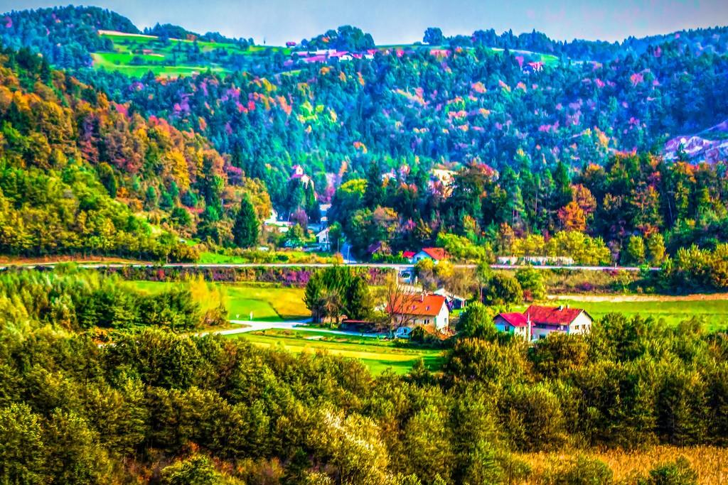 克罗地亚旅途,红瓦绿树_图1-40