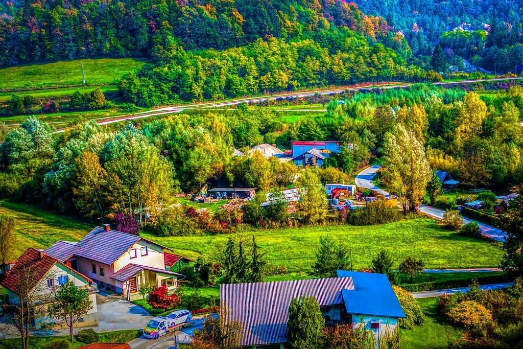 克罗地亚旅途,红瓦绿树_图1-30