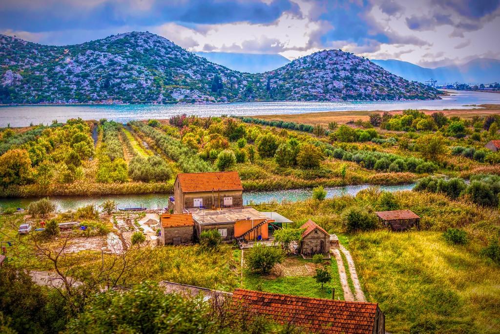 克罗地亚旅途,红瓦绿树_图1-23