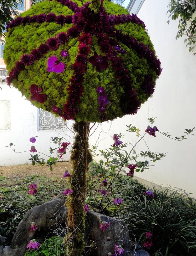 月亮花卉设计作品展.和菊花周年庆典_图1-11