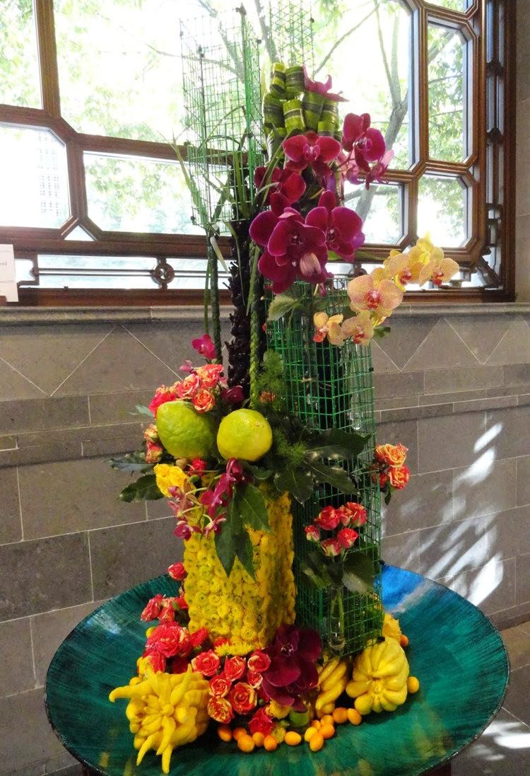 月亮花卉设计作品展.和菊花周年庆典_图1-15