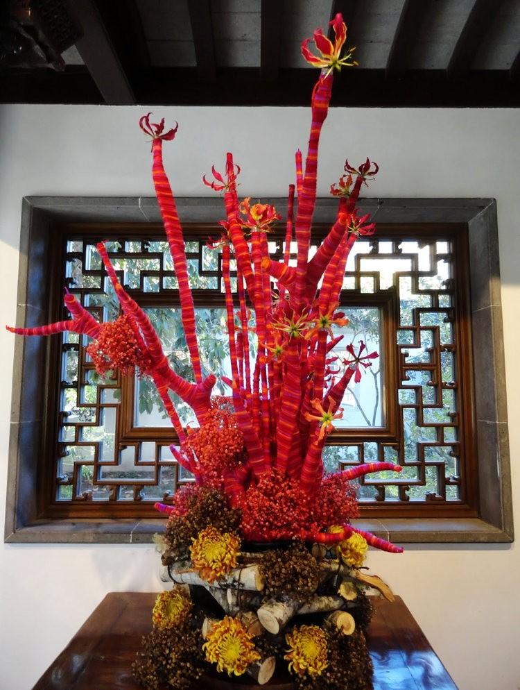 月亮花卉设计作品展.和菊花周年庆典_图1-22