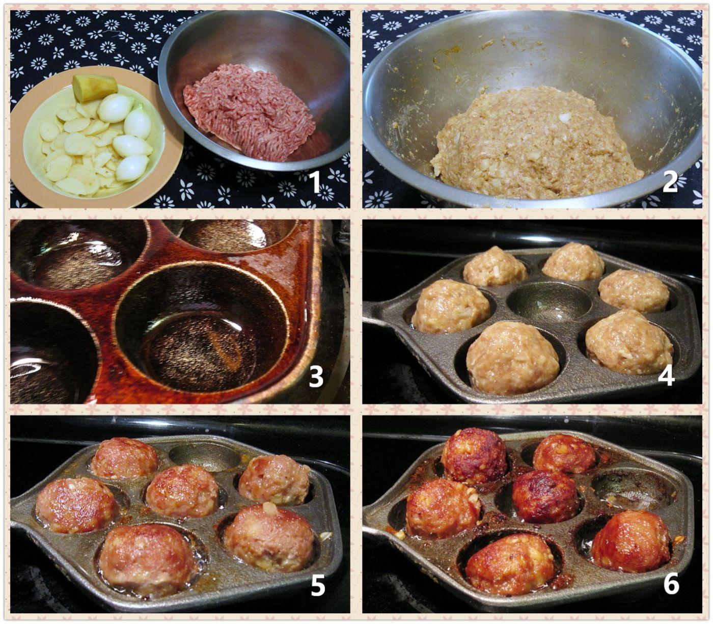模具锅煎肉丸_图1-2
