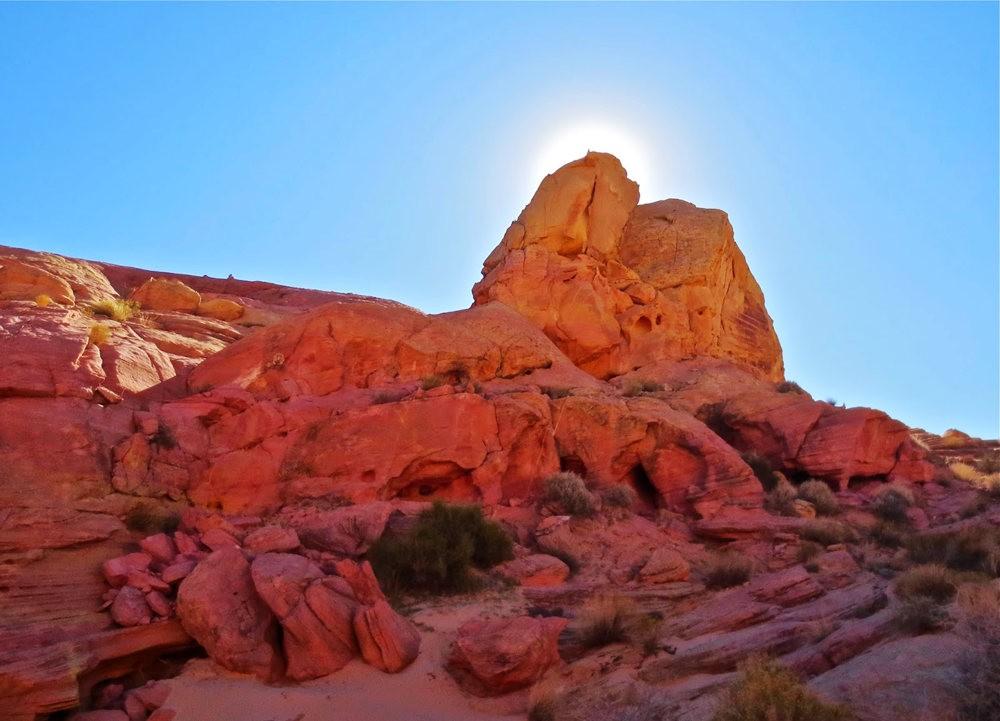 火谷红岩异石_图1-7