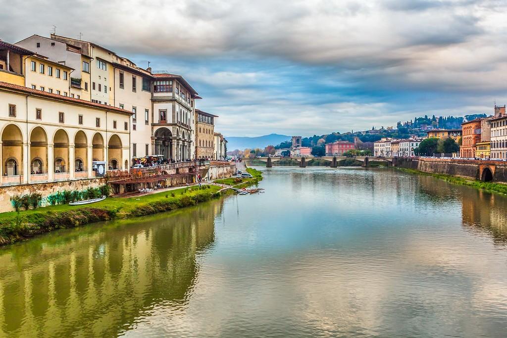 意大利佛罗伦萨(Florence),桥的文化_图1-5