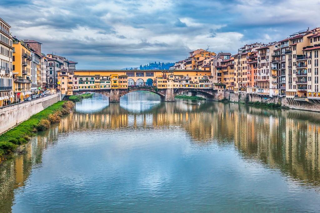 意大利佛罗伦萨(Florence),桥的文化_图1-8
