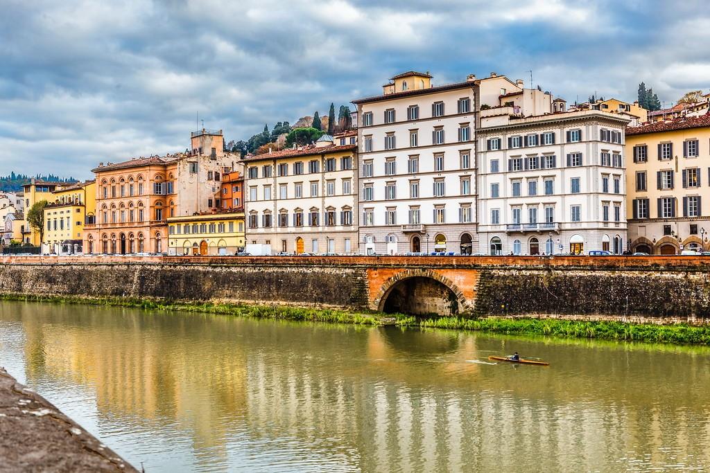 意大利佛罗伦萨(Florence),桥的文化_图1-2