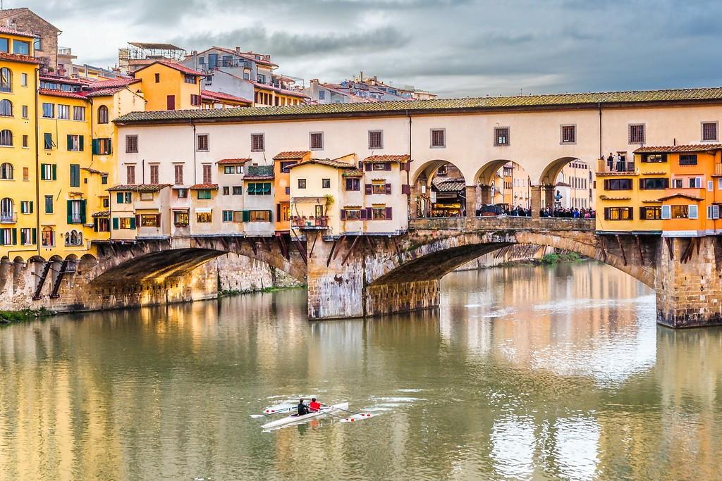 意大利佛罗伦萨(Florence),桥的文化_图1-1