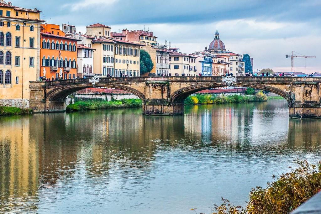 意大利佛罗伦萨(Florence),桥的文化_图1-9
