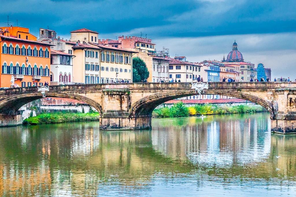 意大利佛罗伦萨(Florence),桥的文化_图1-12