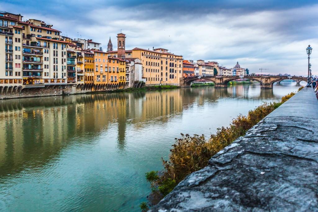意大利佛罗伦萨(Florence),桥的文化_图1-16