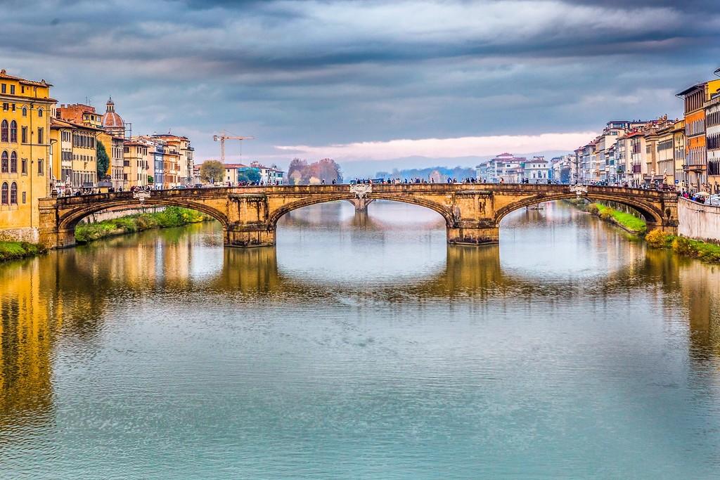 意大利佛罗伦萨(Florence),桥的文化_图1-13
