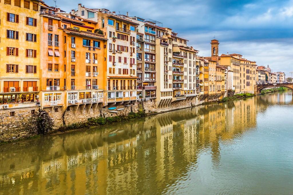 意大利佛罗伦萨(Florence),桥的文化_图1-17