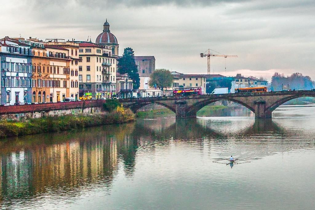 意大利佛罗伦萨(Florence),桥的文化_图1-18