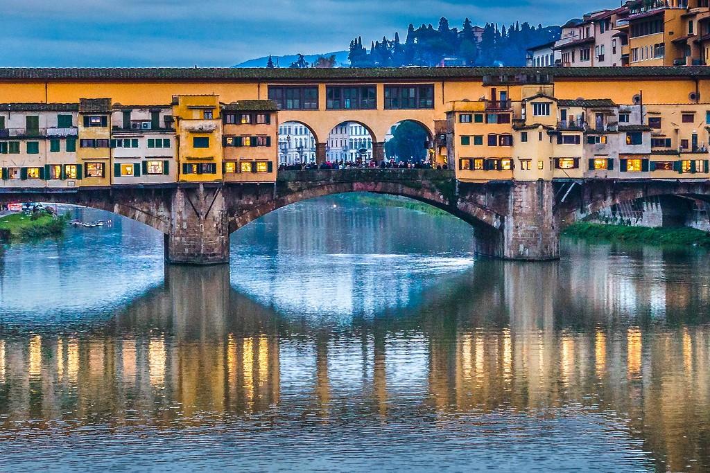 意大利佛罗伦萨(Florence),桥的文化_图1-19