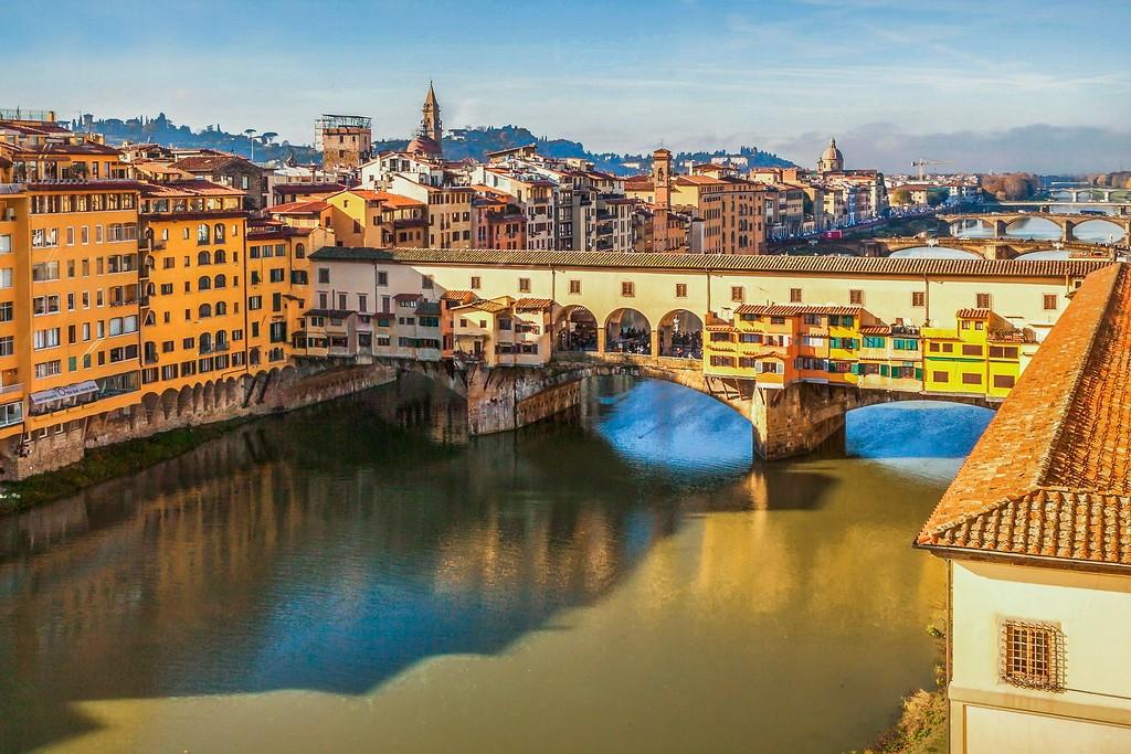 意大利佛罗伦萨(Florence),桥的文化_图1-21