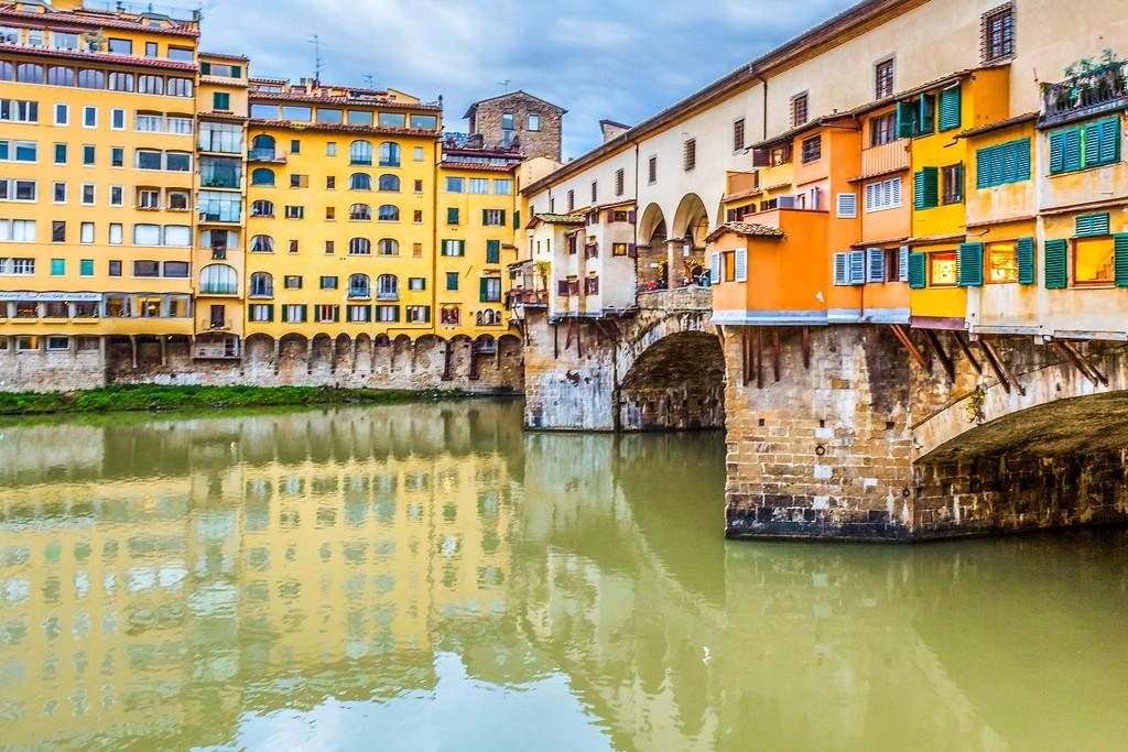 意大利佛罗伦萨(Florence),桥的文化_图1-22