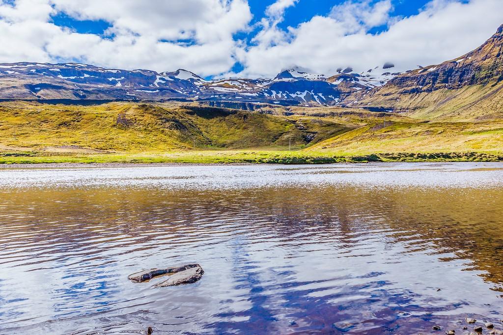 冰岛Kirkjufellsfoss,雪山瀑布_图1-26