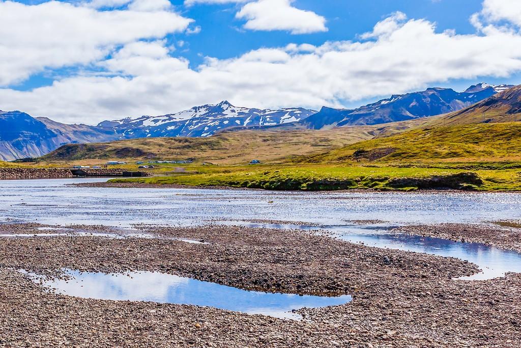 冰岛Kirkjufellsfoss,雪山瀑布_图1-18