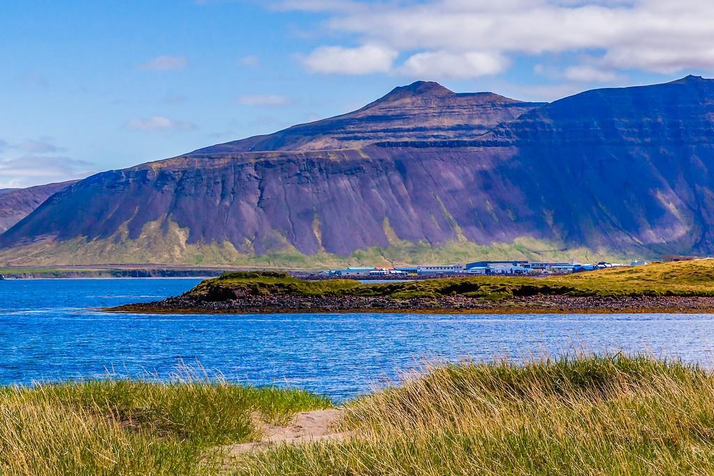 冰岛Kirkjufellsfoss,雪山瀑布_图1-17