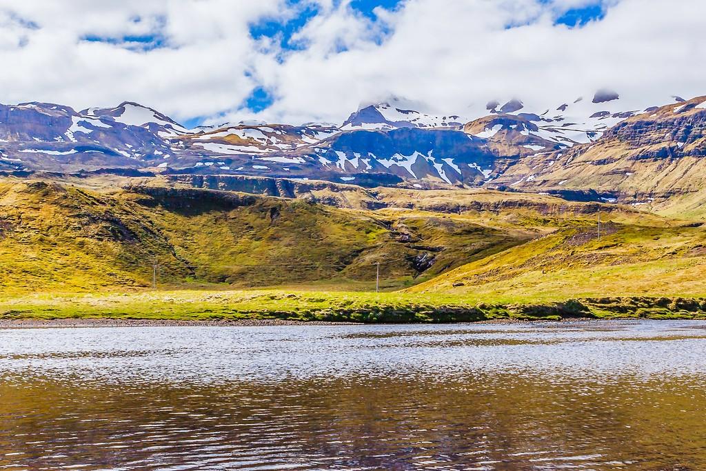 冰岛Kirkjufellsfoss,雪山瀑布_图1-6